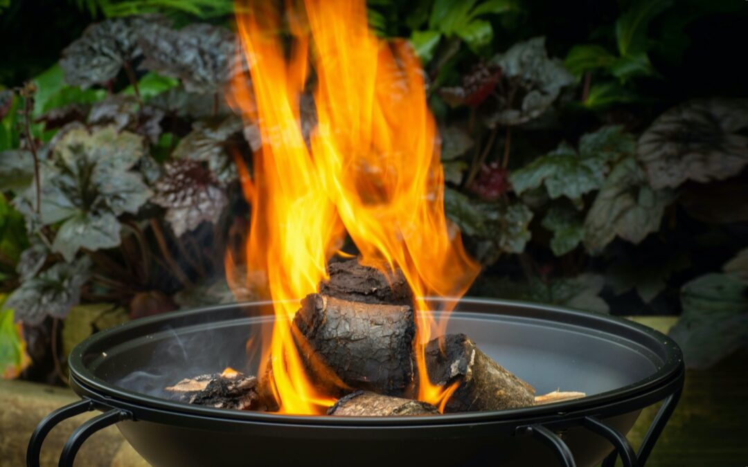 Why is wood not the best fuel for your firepit or wood burner?